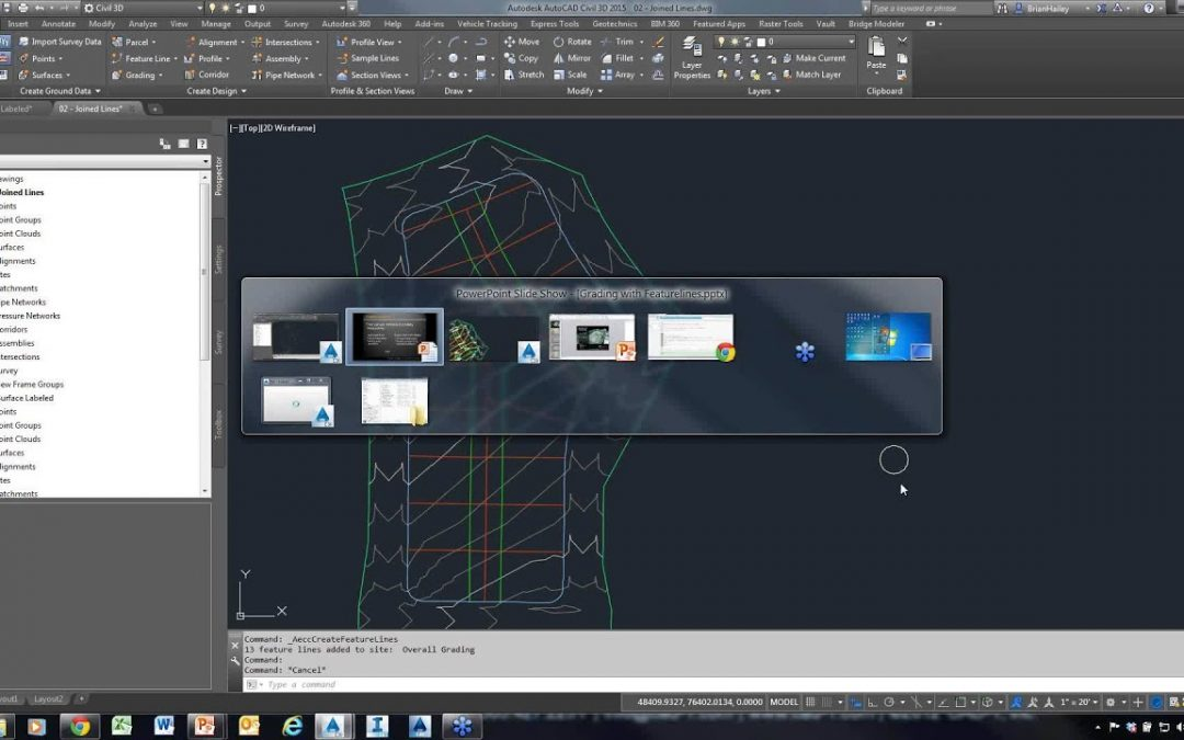 CAD-1 Presents – Grading with Feature Lines in Civil 3D